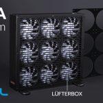 Alphacool präsentiert heute die Nova 1080 9x120mm Lüfterblende & die NexXxoS Nova 1080mm Lüfterbox