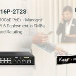 QNAP bringt den QSW-M2116P-2T2S 2,5GbE/10GbE PoE++ L2 Managed Switch mit 10GbE SFP+ Glasfaser auf den Markt