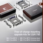 Noctua kündigt kostenlose Montage-Upgrades und aktualisierte CPU-Kühler für LGA1700 an