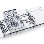 Alphacool präsentiert heute den Eisblock Aurora Acryl GPX Wasserkühler mit Backplate für GALAX & KFA2 Geforce RTX 3090/3080 TI HOF Grafikkarten