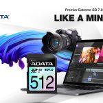 SSD-Performance im ultraportablen Format: ADATA präsentiert die Premier Extreme SDXC SD 7.0 Express-Karte