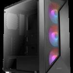 NX320: Antec präsentiert neuen Mid-Tower mit auffälligem Frontdesign